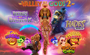GODS OF HALLOWEEN Mission:  Prize Pool 50 000€ by Yggdrasil